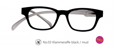 Klammeraffe No.03 black/mud