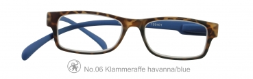 Klammeraffe No.06 havanna/blue