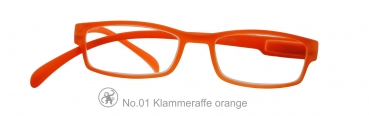 Klammeraffe No.1 orange