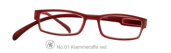 Klammeraffe No.1 red